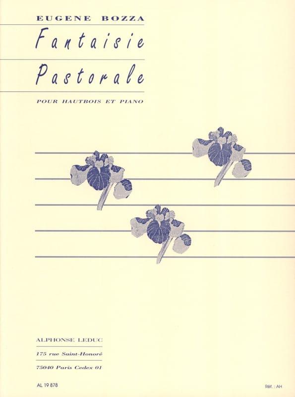 Fantaisie pastorale - Eugène Bozza - Partition - laflutedepan.com