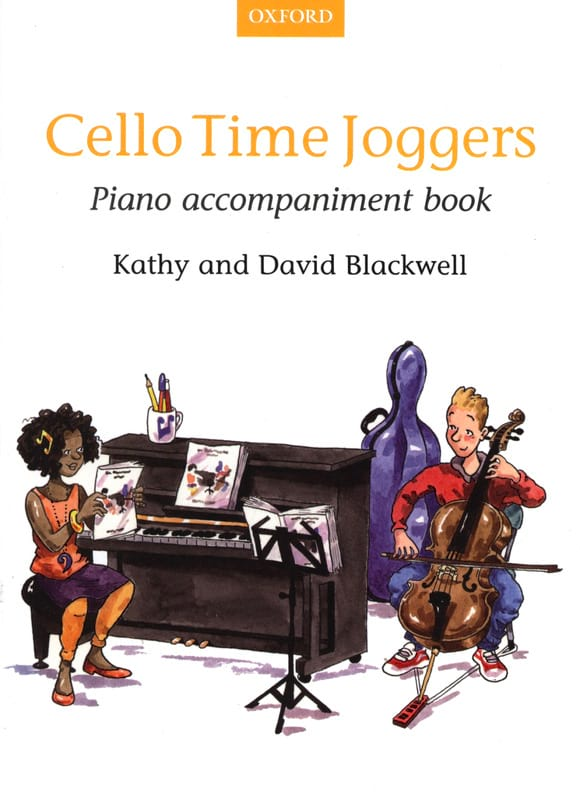 - Cello Time Joggers Book 1 - Piano accompan. - Partition - di-arezzo.co.uk