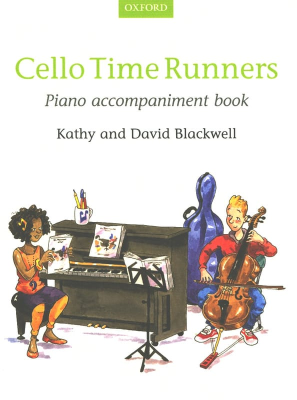 - Cello Time Runners - Piano accomp. Book - Partition - di-arezzo.fr