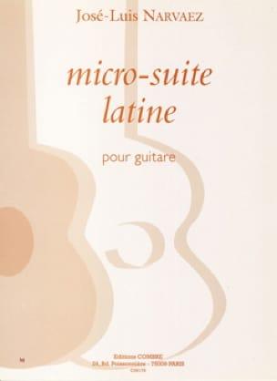 Micro-suite latine - José-Luis Narvaez - Partition - laflutedepan.com