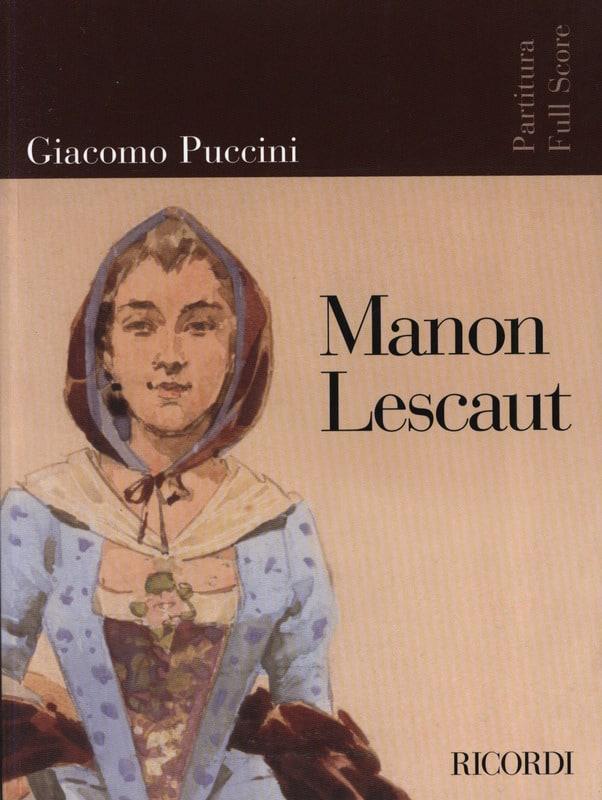 Giacomo Puccini - Nueva edición de Manon Lescaut - Partitura - Partition - di-arezzo.es