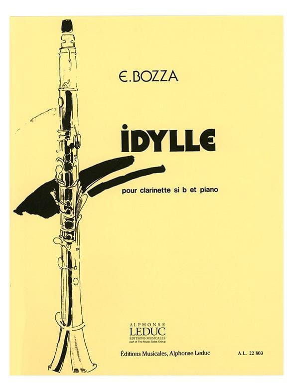 Eugène Bozza - Idyll - Partition - di-arezzo.co.uk