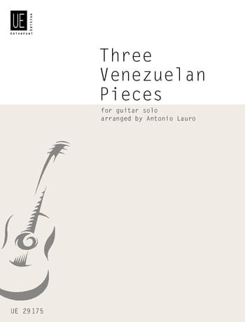 Antonio Lauro - 3 Venezuelan Pieces - Partition - di-arezzo.co.uk