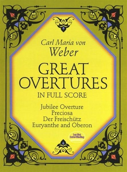Carl Maria von Weber - Great Overtures - Partition - di-arezzo.co.uk