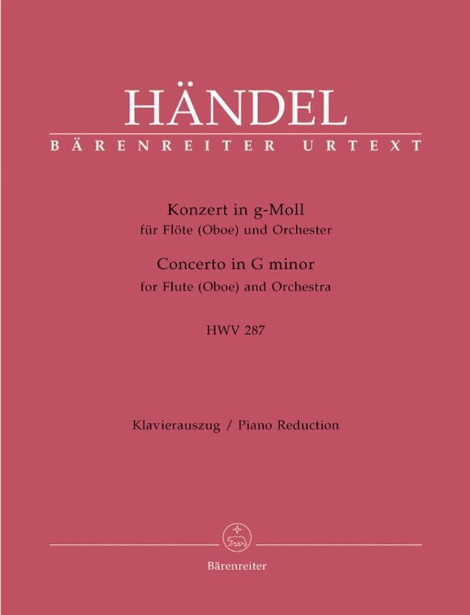Concerto En Sol Min. - Hwv.287 - HAENDEL - laflutedepan.com