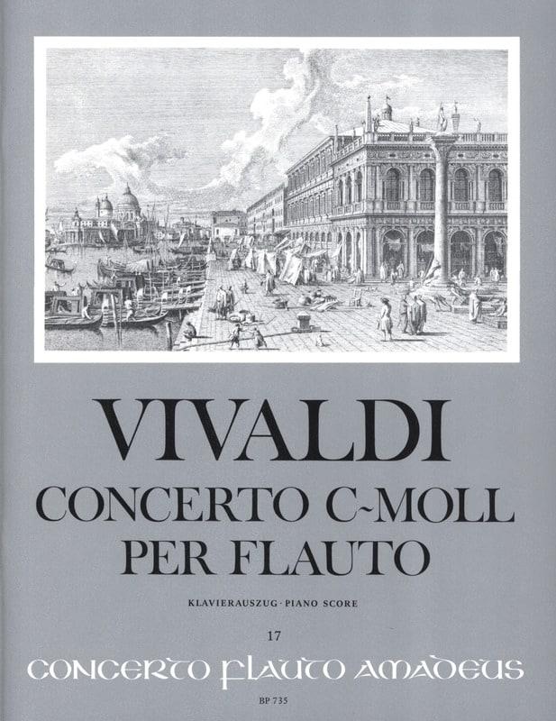 Concerto c-moll per flauto - Altblockflöte Klavier - laflutedepan.com