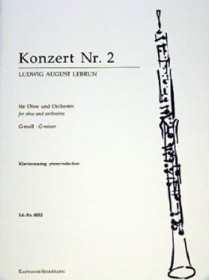 Ludwig August Lebrun - Oboe Concerto No. 2 - Partition - di-arezzo.co.uk