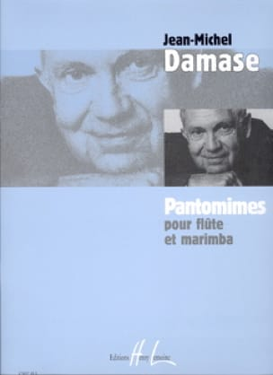 Jean-Michel Damase - Pantomimes - Flûte marimba - Partition - di-arezzo.fr
