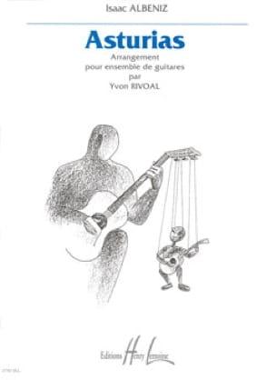 Asturias - Ensemble de guitares - ALBENIZ - laflutedepan.com