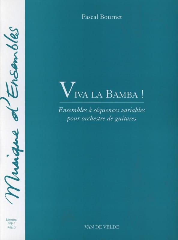 Viva la Bamba ! - Pascal Bournet - Partition - laflutedepan.com