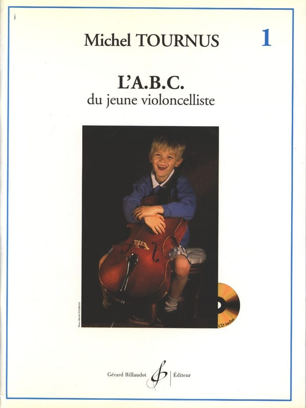 Michel Tournus - The ABC of the Young Cellist Volume 1 - Partition - di-arezzo.co.uk