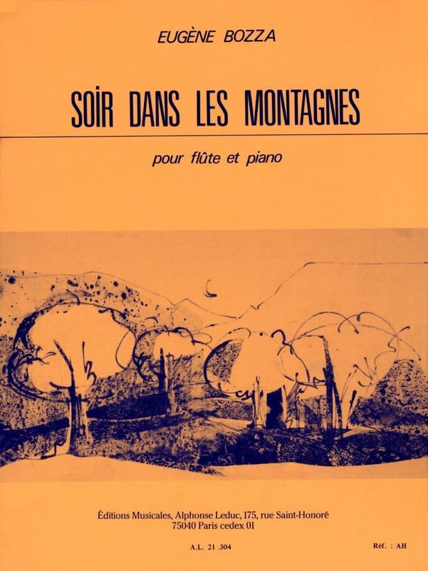Eugène Bozza - Evening in the mountains - Partition - di-arezzo.com