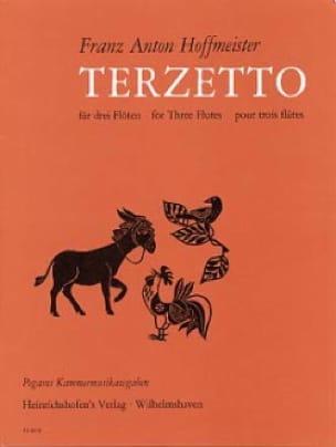 Terzetto - 3 Flöten - HOFFMEISTER - Partition - laflutedepan.com