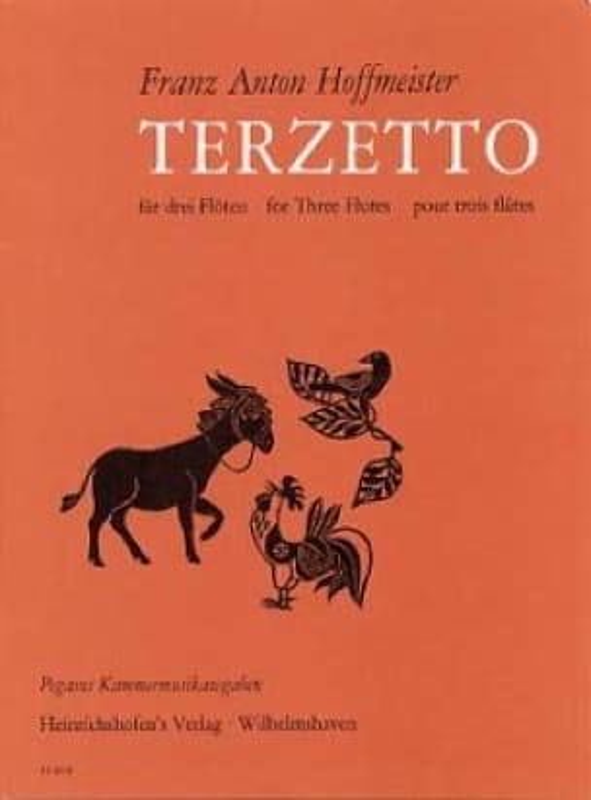 Terzetto - HOFFMEISTER - Partition - laflutedepan.com