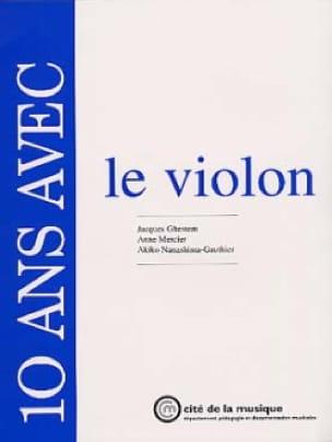 10 Ans avec le Violon - Livre - laflutedepan.com