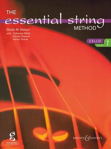 Essential string method, Volume 1 - Cello - laflutedepan.com