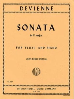 François Devienne - Sonata in F major - Flute piano - Partition - di-arezzo.com