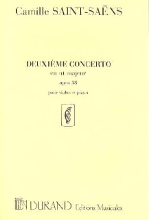 Concerto Violon N° 2, opus 58 - SAINT-SAËNS - laflutedepan.com
