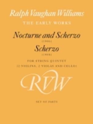 Nocturne and Scherzo 1906 / Scherzo 1904 -Parts - laflutedepan.com