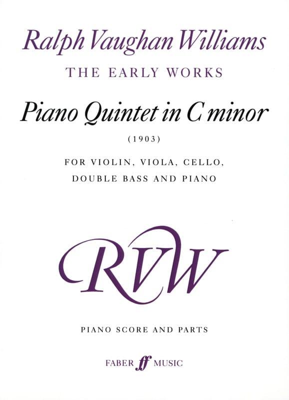 Piano Quintet in c minor 1903 -Piano score + parts - laflutedepan.com