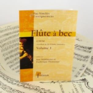 Flûte à bec, CFEM - Volume 1 - laflutedepan.com