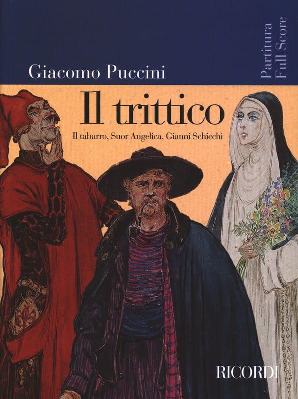 Giacomo Puccini - Il Trittico New Edition - Partition - di-arezzo.co.uk