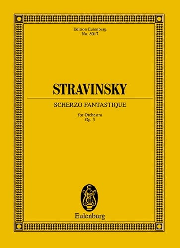 Scherzo Fantastique, op. 3 - STRAVINSKY - Partition - laflutedepan.com
