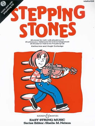 Stepping Stones - Violon - Partition - Violon - laflutedepan.com