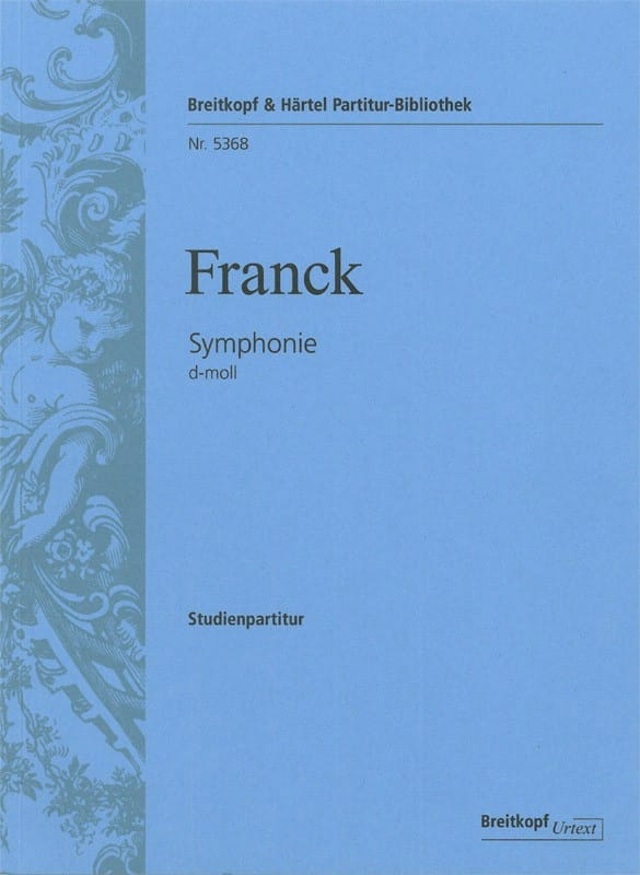 César Franck - Symphony In D Minor - Partition - di-arezzo.com