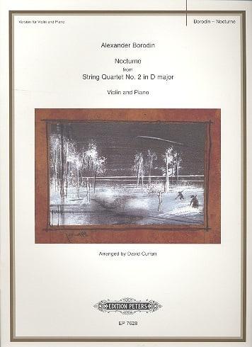 Nocturne - Violin - BORODINE - Partition - Violon - laflutedepan.com