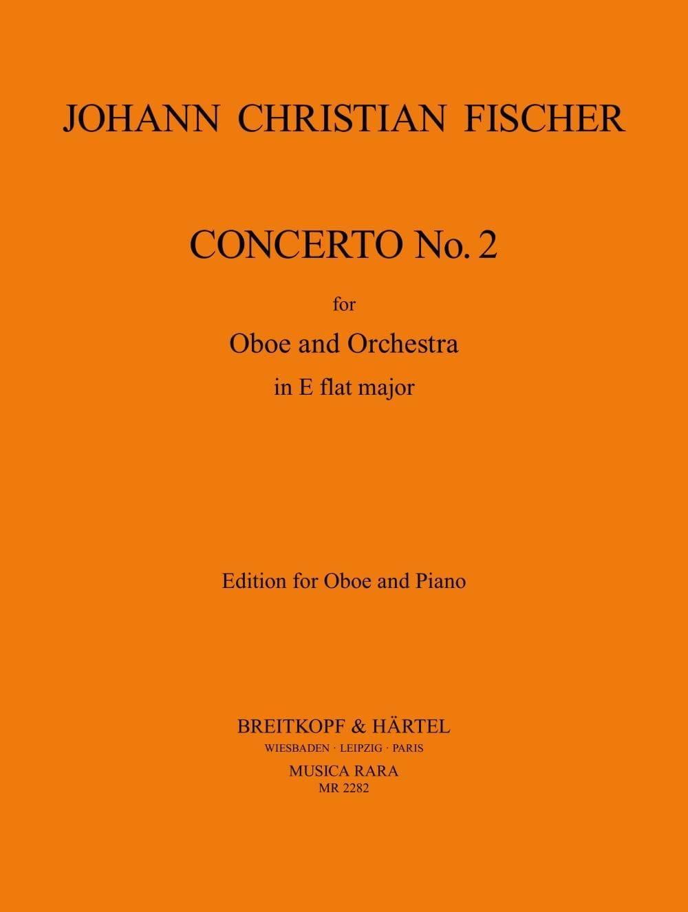 Concerto n° 2 for Oboe in E flat major - laflutedepan.com