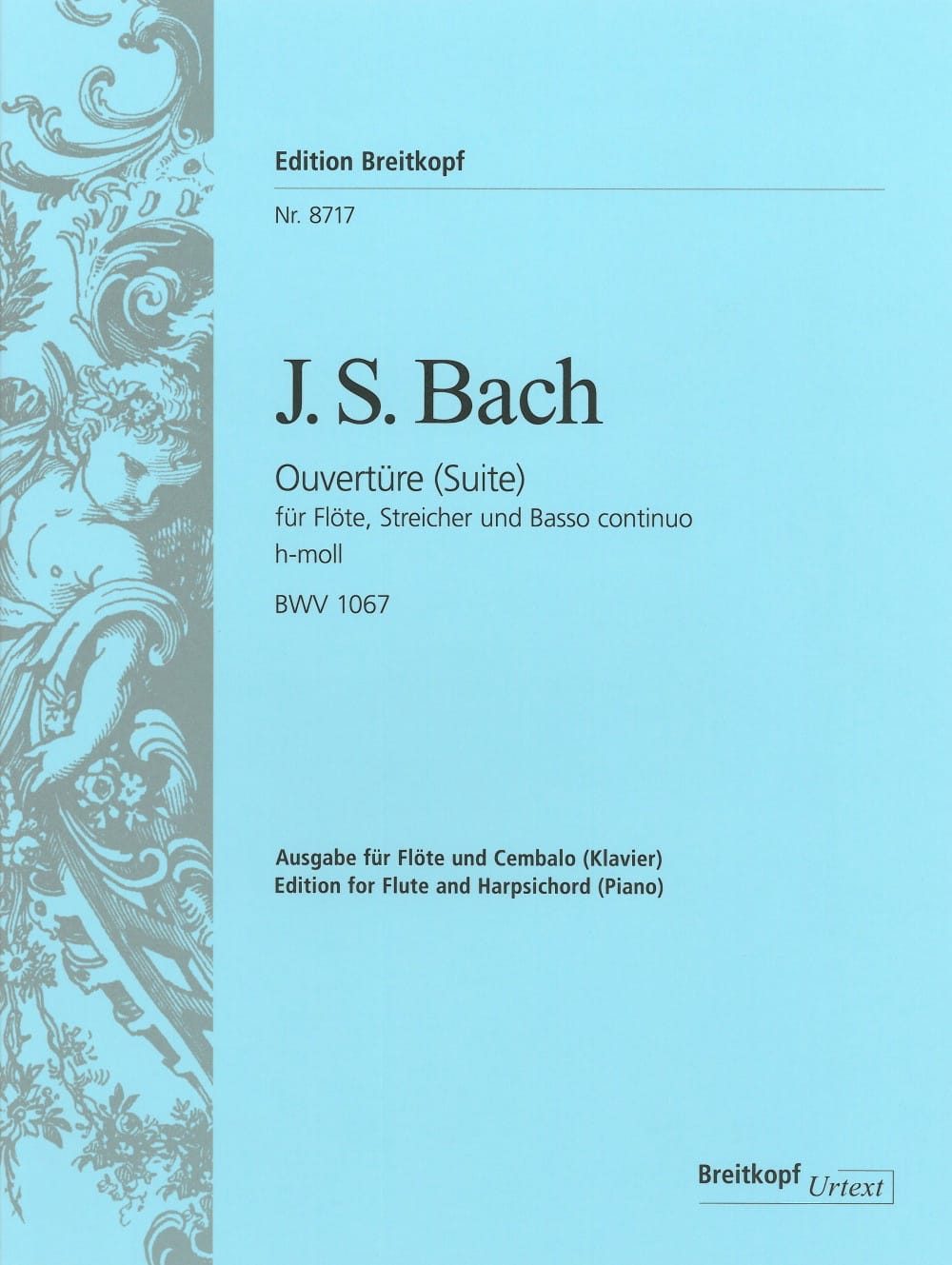 BACH - Suite N ° 2 In Minor Si - BWV 1067 - Partition - di-arezzo.co.uk