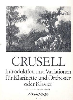 Bernhard Henrik Crusell - Introducción y variación - Klarinette Klavier - Partition - di-arezzo.es