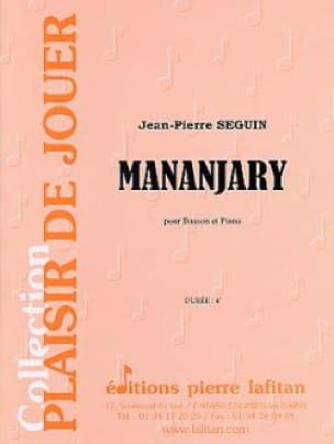 Mananjary - Jean-Pierre Seguin - Partition - laflutedepan.com