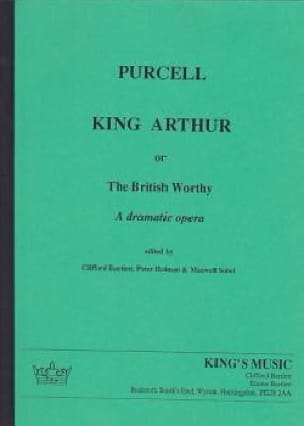 Henry Purcell - King Arthur - Score - Partition - di-arezzo.co.uk