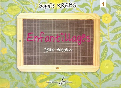Sophie Krebs - Childish - Volume 1 - Im1 - Partition - di-arezzo.co.uk