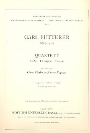 Quartett F-Dur - Stimmen - Carl Futterer - laflutedepan.com
