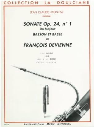 François Devienne - Sonata op. 24 n ° 1 - Bassoon and bass - Partition - di-arezzo.com