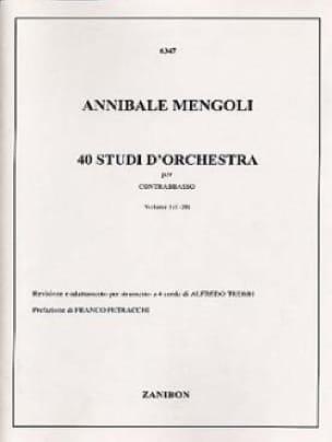 40 Studi D'orchestra Volume 1 - Contrabbasso - laflutedepan.com