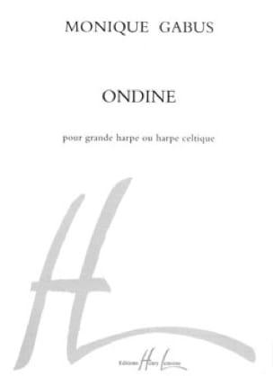 Ondine - Monique Gabus - Partition - Harpe - laflutedepan.com