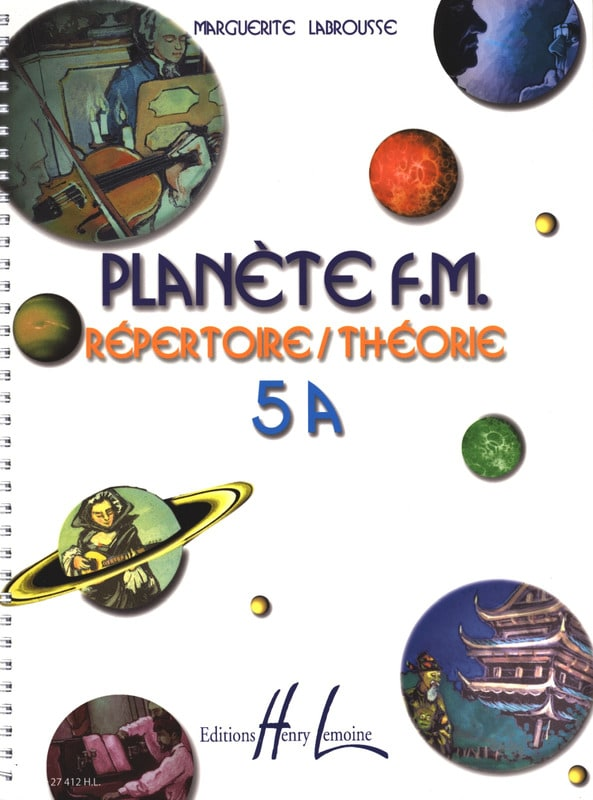 Marguerite Labrousse - Planet FM 5A - Directory di teoria - Partition - di-arezzo.it