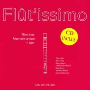 Flutissimo - Flût'issimo Volume 1 - Partition - di-arezzo.co.uk
