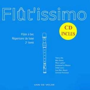 Flutissimo - Flût'issimo - Volume 2 - Partition - di-arezzo.co.uk