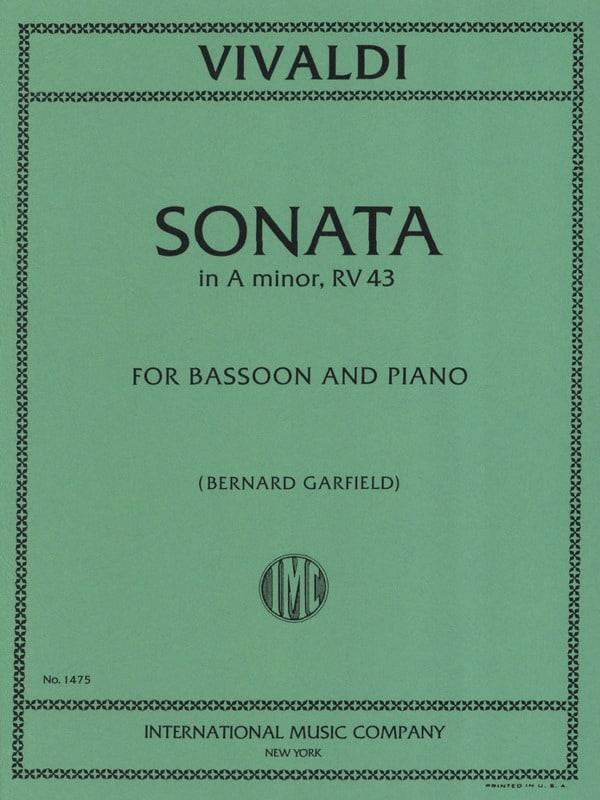 Sonata N° 3 In A Minor Rv 43 - VIVALDI - Partition - laflutedepan.com