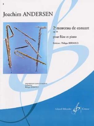 Joachim Andersen - 2ème Morceau de concert op. 61 - Partition - di-arezzo.fr