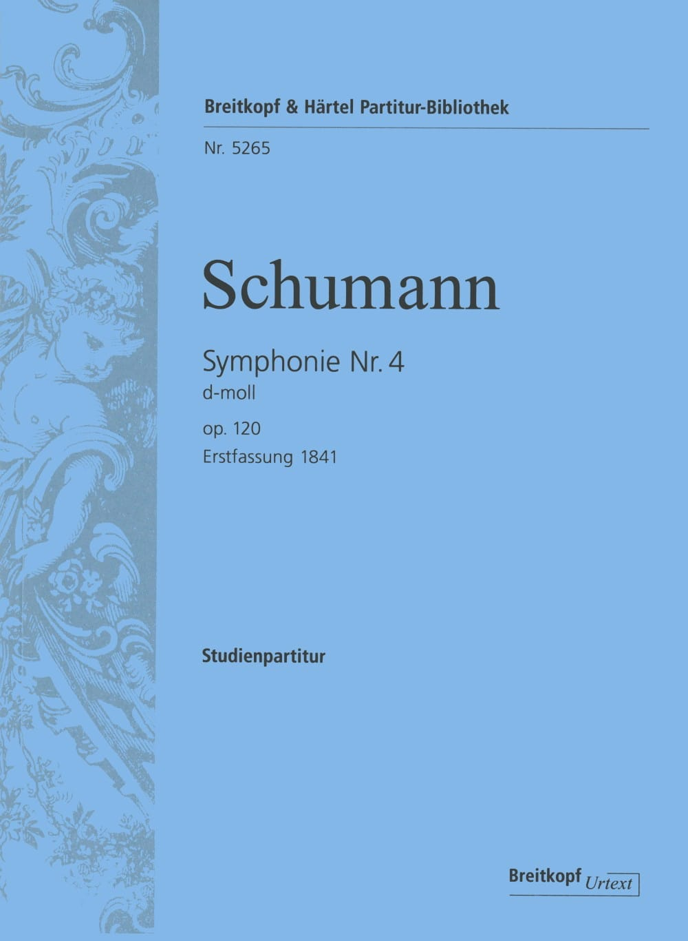 Symphonie Nr. 4 d-moll op. 120 - Partitur - laflutedepan.com