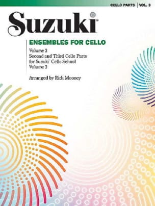 Ensembles For Cello Volume 3 - SUSUKI - Partition - laflutedepan.com