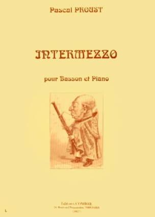 Intermezzo - Pascal Proust - Partition - Basson - laflutedepan.com