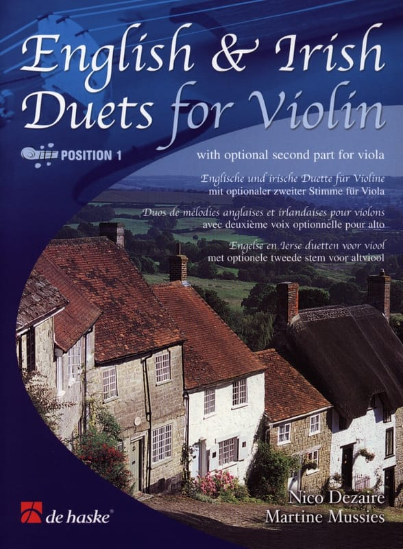 Dezaire Nico / Mussies Martine - English and Irish Duets for Violin - Partition - di-arezzo.co.uk