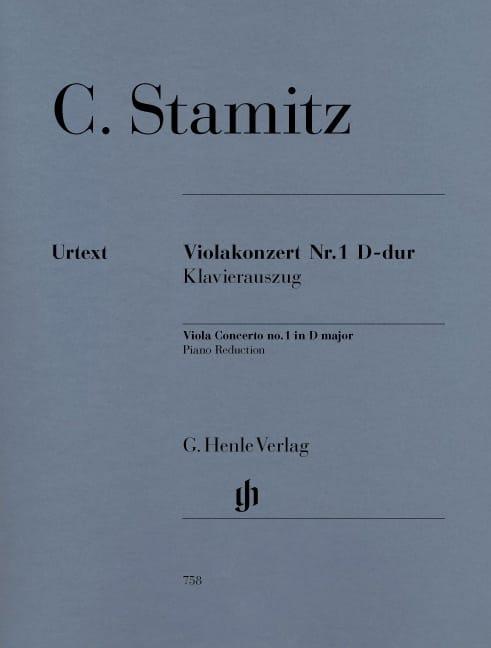 Carl Stamitz - Concierto para violín n.º 1, re mayor - Partition - di-arezzo.es